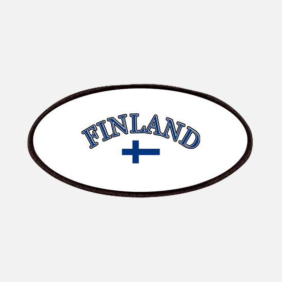 Finland Soccer Designs Patches