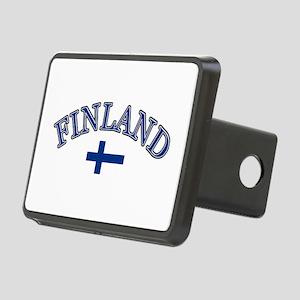 Finland Soccer Designs Rectangular Hitch Cover