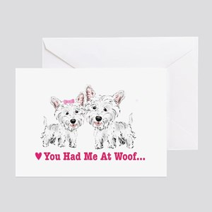 You Had me at Woof Greeting Cards (Pk of 10)
