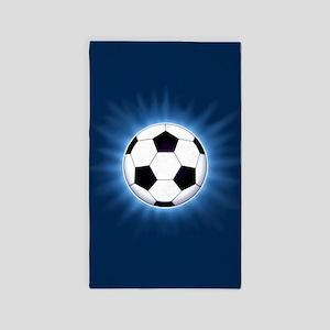 Soccer Ball Area Rug
