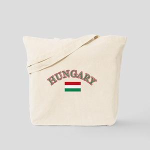 Hungary Soccer Designs Tote Bag