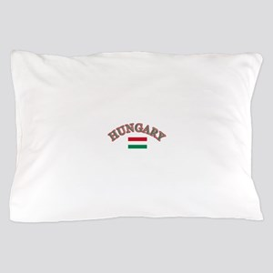 Hungary Soccer Designs Pillow Case