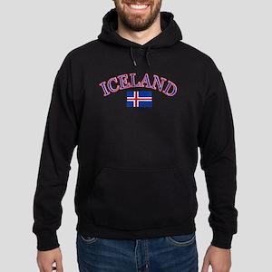 Iceland Soccer Designs Hoodie (dark)