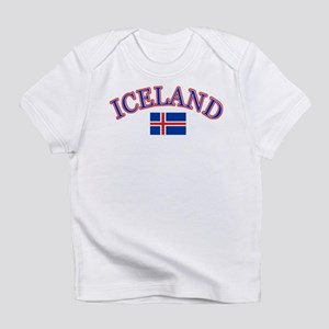 Iceland Soccer Designs Infant T-Shirt