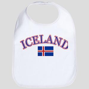 Iceland Soccer Designs Bib
