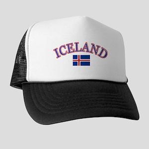 Iceland Soccer Designs Trucker Hat