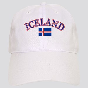 Iceland Soccer Designs Cap