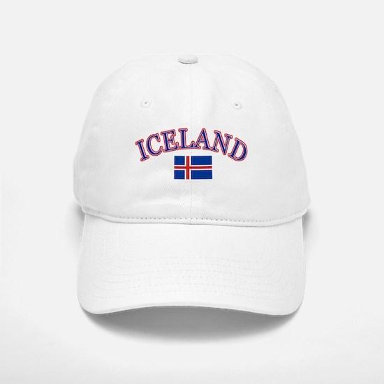 Iceland Soccer Designs Baseball Baseball Cap