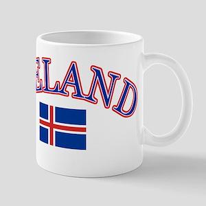 Iceland Soccer Designs Mug