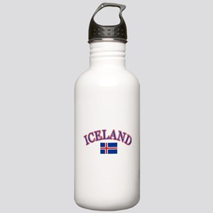 Iceland Soccer Designs Stainless Water Bottle 1.0L