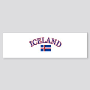 Iceland Soccer Designs Sticker (Bumper)