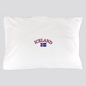 Iceland Soccer Designs Pillow Case