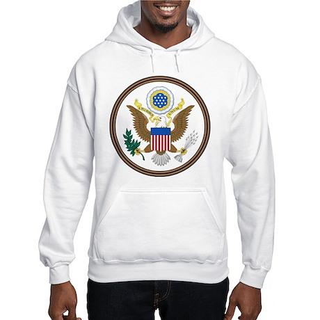 USA Seal Hooded Sweatshirt