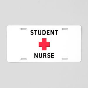 Student Nurse Aluminum License Plate