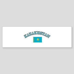 Kazakhstan Soccer Designs Sticker (Bumper)