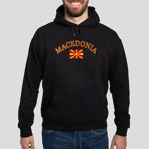 Macedonia Soccer Designs Hoodie (dark)