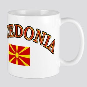 Macedonia Soccer Designs Mug