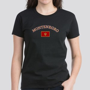 Montenegro Soccer Designs Women's Dark T-Shirt