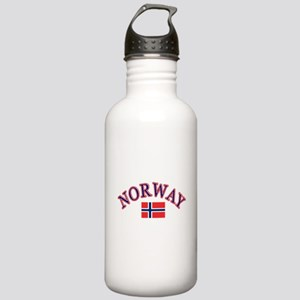 Norway Soccer Designs Stainless Water Bottle 1.0L