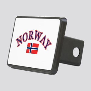 Norway Soccer Designs Rectangular Hitch Cover