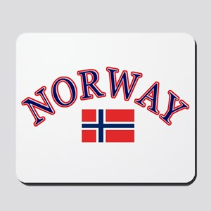 Norway Soccer Designs Mousepad