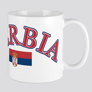 Serbia Soccer Designs Mug