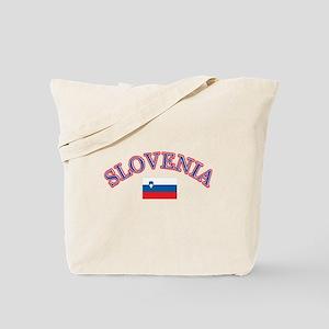 Slovenia Soccer Designs Tote Bag