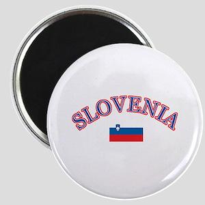 Slovenia Soccer Designs Magnet