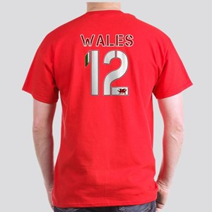 wales dragon football design 12 Dark T-Shirt