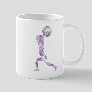 Watercolor Lift in Purple Mug