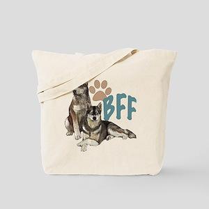 Siberian Husky BFF Tote Bag