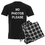 No Photos Please Men's Dark Pajamas