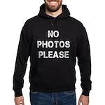 No Photos Please Hoodie (dark)