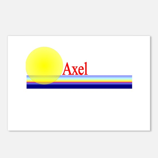 Axel Postcards (Package of 8)