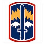 171st Infantry Bde Square Car Magnet 3