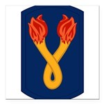 196th Light Infantry Bde Square Car Magnet 3