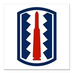 197th Infantry Square Car Magnet 3