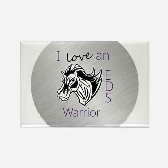 I love an EDS Warrior Rectangle Magnet
