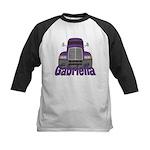 Trucker Gabriella Kids Baseball Jersey