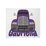 Trucker Gabriella Throw Blanket