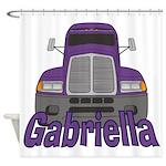 Trucker Gabriella Shower Curtain