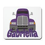 Trucker Gabriella Mousepad