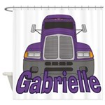 Trucker Gabrielle Shower Curtain