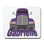 Trucker Gabrielle Mousepad