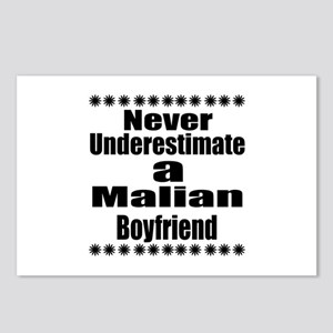 Never Underestimate A Mal Postcards (Package of 8)