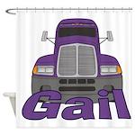 Trucker Gail Shower Curtain