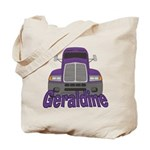 Trucker Geraldine Tote Bag