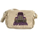Trucker Geraldine Messenger Bag