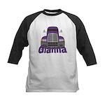 Trucker Gianna Kids Baseball Jersey