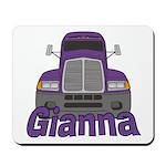 Trucker Gianna Mousepad